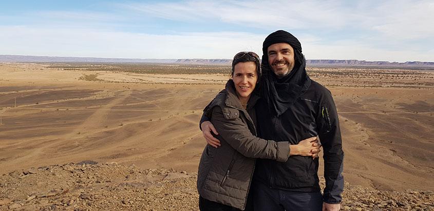 1001 tours Morocco opiniones de clientes imagen pareja
