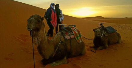 Foto clientas 1001 Tours Morocco