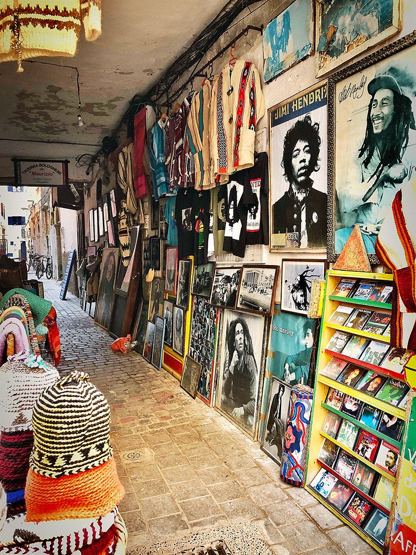 Essaouira foto tienda 1001Tours Morocco