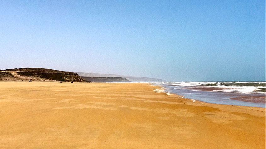 Essaouira vistas playa 1001 Tours Morocco