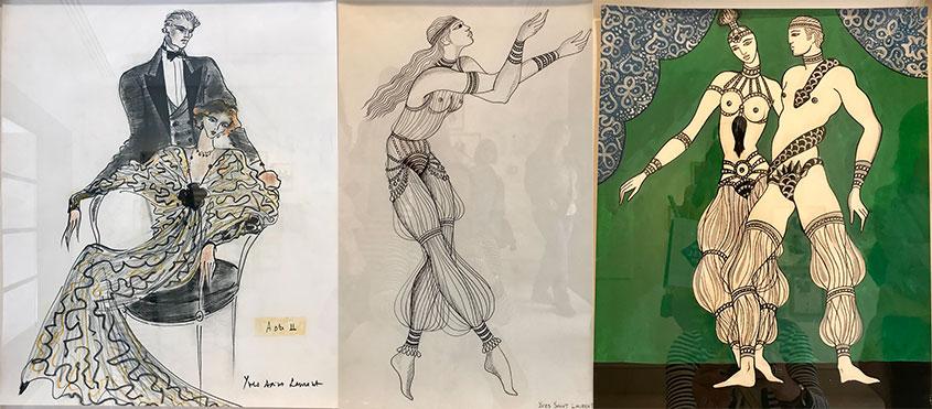 Museo Yves Saint Laurent de Marrakech - Obras museo