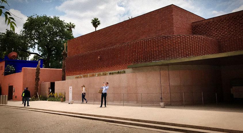 Museo Yves Saint Laurent de Marrakech - Edificio